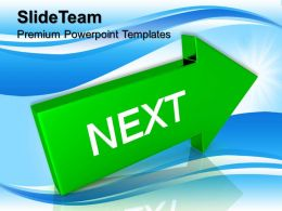 Business Presentations Templates Arrow With Word Next Process Ppt Designs Powerpoint