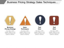 Business Pricing Strategy Sales Techniques Total Productive Maintenance