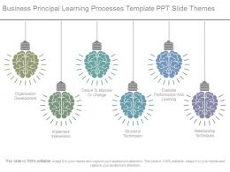 Business Principal Learning Processes Template Ppt Slide Themes