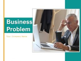 Business Problem Organization Icon Government Recruitment Businessmen