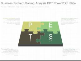 Business Problem Solving Analysis Ppt Powerpoint Slide