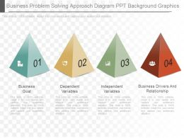 Business Problem Solving Approach Diagram Ppt Background Graphics