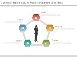 Business Problem Solving Model Powerpoint Slide Ideas