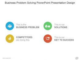 Business Problem Solving Powerpoint Presentation Design
