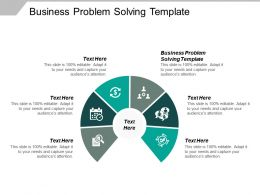 Business Problem Solving Template Ppt Powerpoint Presentation Pictures Sample Cpb
