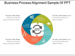 Business Process Alignment Sample Of Ppt