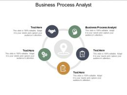 Business Process Analyst Ppt Powerpoint Presentation Outline Mockup Cpb