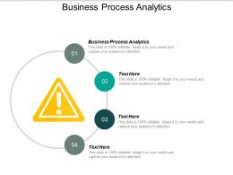 Business Process Analytics Ppt Powerpoint Presentation File Icons Cpb