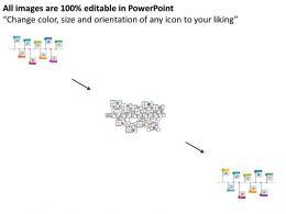 Roadmap Business Process And Achievement Linear Timeline Flat Powerpoint Design