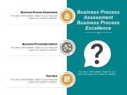 Business Process Assessment Business Process Excellence Cpb