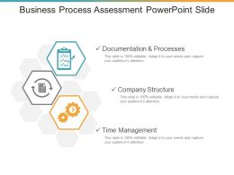 Business Process Assessment Powerpoint Slide