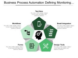 Business Process Automation Defining Monitoring Designing Forms And Workflows