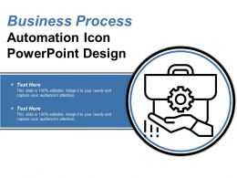 Business Process Automation Icon Powerpoint Design
