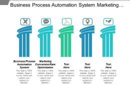 Business Process Automation System Marketing Conversion Rate Optimization Cpb
