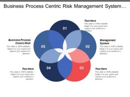 Business Process Centric Risk Management System Professional Organization