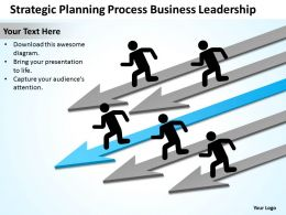 Business Process Consulting Strategic Planning Leadership Powerpoint Templates 0527
