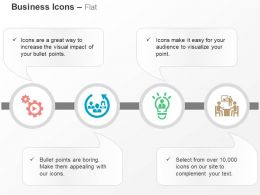 Business Process Control Idea Generation Business Strategy Discussion Ppt Icons Graphics