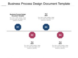Business Process Design Document Template Ppt Powerpoint Presentation File Good Cpb