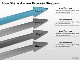 business_process_diagram_examples_four_steps_arrow_powerpoint_slides_Slide02