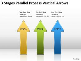 Business Process Diagram Vertical Arrows Powerpoint Templates PPT Backgrounds For Slides