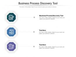 Business Process Discovery Tool Ppt Powerpoint Presentation Styles Files Cpb