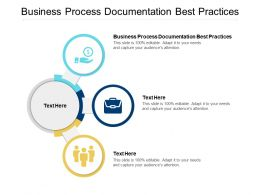 Business Process Documentation Best Practices Ppt Powerpoint Presentation Model Slides Cpb