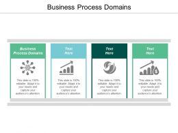Business Process Domains Ppt Powerpoint Presentation File Introduction Cpb