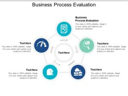 Business Process Evaluation Ppt Powerpoint Presentation Slides Background Cpb