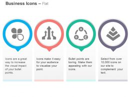 Business Process Flow Arrows Cycle Pyramid Ppt Icons Graphics