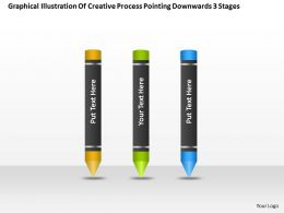 business_process_flow_chart_downwards_3_stages_powerpoint_templates_ppt_backgrounds_for_slides_Slide01