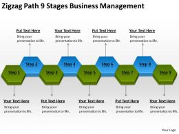Business Process Flow Chart Example Management Powerpoint Templates PPT Backgrounds For Slides 0522