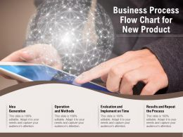 Business Process Flow Chart For New Product