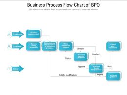 Business Process Flow Chart Of BPO