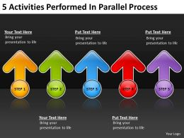 business_process_flow_diagram_5_activities_performed_parallel_powerpoint_templates_Slide01