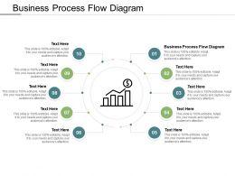 Business Process Flow Diagram Ppt Powerpoint Presentation Pictures Elements Cpb