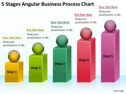 Business Process Flow Diagrams Chart Powerpoint Templates PPT Backgrounds For Slides