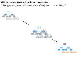 Business Process Flow Diagrams Organization Chart Marketing Theme Powerpoint Slides 0523