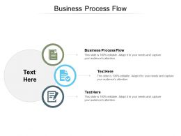 Business Process Flow Ppt Powerpoint Presentation Slides Guide Cpb