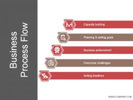 Business Process Flow Ppt Summary