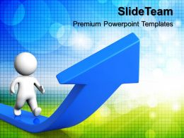 business_process_flow_presentations_man_walking_growth_arrows_ppt_themes_powerpoint_Slide01
