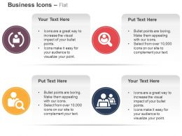 Business Process Flow Search Customer Care Ppt Icons Graphics