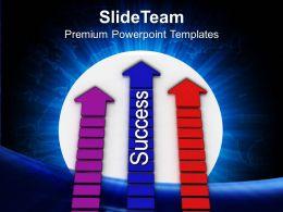Business Process Flow Templates Success Global Download Ppt Presentation Powerpoint