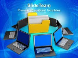 business_process_flow_templates_themes_information_technology_project_management_Slide01