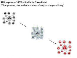 Business Process Flowchart Networking Mind Map Diagram Powerpoint Slides