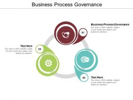 Business Process Governance Ppt Powerpoint Presentation Icon Cpb