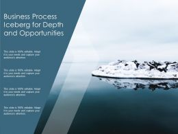 Business Process Iceberg For Depth And Opportunities