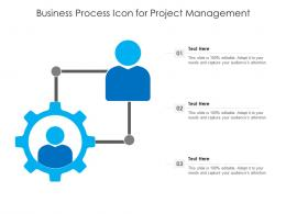 Business Process Icon For Project Management