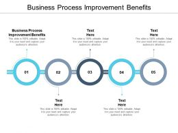 Business Process Improvement Benefits Ppt Powerpoint Presentation Portfolio Cpb