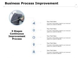 Business Process Improvement Grwoth Strategy Ppt Powerpoint Presentation Pictures