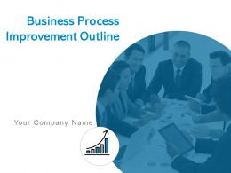 Business Process Improvement Outline Powerpoint Presentation Slides